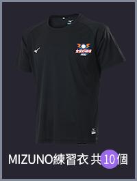 MIZUNO 練習衣*10